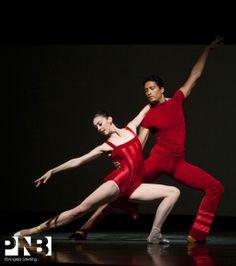 Laura Tisserand and Karel Cruz in The Piano Dance. PNB