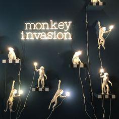 Seletti - Monkey Lamp - Hanging | Panik Design - Puoi trovarlo da Prime Home- il Loft è aperto