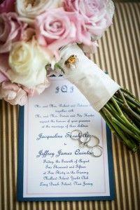 Simple Navy wedding