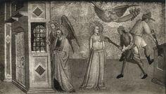 Anonimo , Anonimo fiorentino - sec. XIV - Martirio di sant