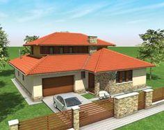 Tóth Árpád Ter Stúdió House Design Pictures, Modern House Design, Clarendon Homes, African House, Glass Brick, Architect House, Exterior House Colors, House Floor Plans, Architecture Design