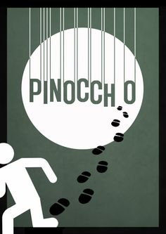 Pinnochio - Minimalist Disney posters by Rowan Stocks-Moor $20