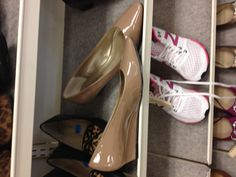 are nude shoes still in? pointy w/ a low heel - so cute.