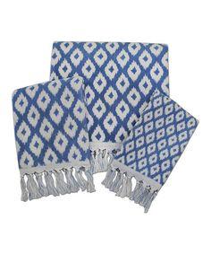 Madison Jacquard Towel Set #zulily #zulilyfinds
