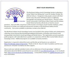 Northeast Indiana Jewish Genealogy Society Family History, Genealogy, Helping People, Indiana, Advice, How To Plan, Tips