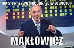 Jak się nazywa macdonald w Łowiczu ? Makłowicz