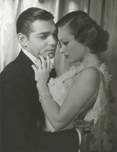 Clark Gable and Joan Crawford for Dancing Lady, 1933 by George Hurrell © John Kobal Foundation, 2011