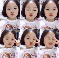 Cute Asian Babies, Korean Babies, Asian Kids, Cute Babies, Baby Kids, Cute Baby Pictures, Baby Photos, Korean Children, Cute Baby Girl
