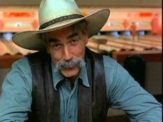 Sam Elliott tells us all is well - The Dude Abides. The Big Lebowski (1998) , with Jeff Bridges, John Goodman, Steve Buscemi and Julianne Moore - You Tube [last lines] The Stranger: Say, friend - you got any more of that good sarsaparilla?  Sam Elliott - One of the sexiest men alive. Love his deep voice as well. #movie