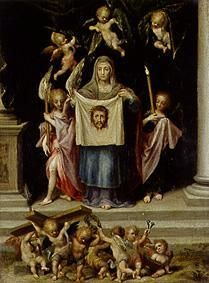 Veronica with the Shroud of Christ Catholic Art, Religious Art, Roman Catholic, Virgin Mary Painting, Verona, St Veronica, Christian Artwork, Jesus Painting, Jesus Face