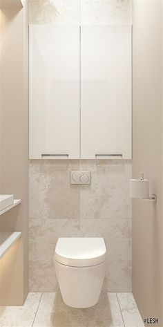 Above toilet cupboards for en suite Small Toilet Room, Bathroom Styling, Bathroom Toilets, Bathroom Interior, Bathroom Decor, Toilet, Bathroom Interior Design, Toilet Design, Bathroom Design Inspiration