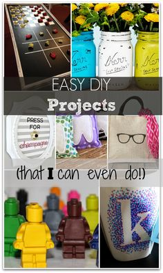 Easy DIY Projects that I can actually DO!!