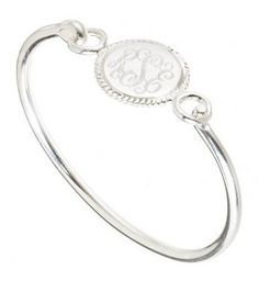 Hamptons Monogram Bracelet {Small}