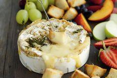 You can make this Camembert Fondue without a fondue pot.