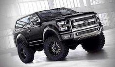 2016 Ford Bronco...even though it's a Ford, I may have to get this ...