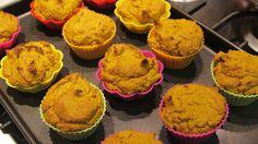 Muffin de abóbora saudável