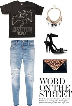 """""""rockin' the chunk"""" by anncaye on Polyvore"""
