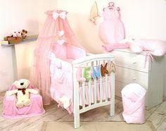 himmel f r babybett oder tagesbett laufstall kommode mit schwarzen kn pfen pinterest baby. Black Bedroom Furniture Sets. Home Design Ideas