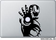 Tony Stark und sein Leben als Held haben Iron Man zur Legende werden lassen. Der coole Macbook Sticker ist jetzt sofort auf Lager!  http://www.macdecal.de/hollywood-macbook-sticker/macbook-sticker-aufkleber-iron-man.html
