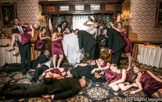 """The photographer told them to act """"obscenely drunk"""" and this was the result"""