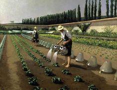 Jardiniers 1875 CAILLEBOTTE