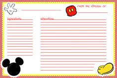 Recipe Cards For Teachers  A Simple Free Printable That Will Show