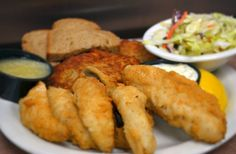 Perch Fish Fry From Ricardo's Pizza In Greendale.