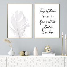 Zestaw dwóch plakatów minimalistyczne plakaty dwa obrazy | Etsy Nursery Wall Decor, Black Dots, Place Cards, Place Card Holders, Etsy Shop, Studio, Home Decor, Decoration Home, Room Decor