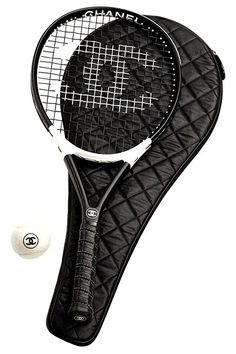 Chanel tennis set: For people who wear makeup to workout and spend more time in the pro shop than on the court. (Still kind of cute though ha)