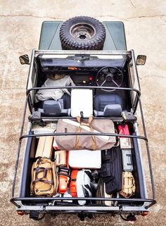 Fully loaded Land Rover Upknorth