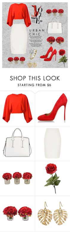 """""""Working day 2"""" by aminadj ❤ liked on Polyvore featuring STELLA McCARTNEY, Dsquared2, French Connection, River Island, The French Bee and The Sak"""