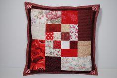Sew Me Something Good: Scrappy Bento Box Block Pillow Tutorial