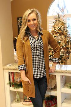 Make It Last Cardigan- Caramel   Leah B Boutique Online – Leah B. Boutique