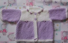 Looking for your next project? You're going to love LILAC ROSE BABY JACKET by designer SusanW48.