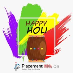 Hope the canvas of your life gets painted with the most beautiful colors. Holi Wishes, Job Portal, Happy Holi, Trending Topics, Marriage, Canvas, Colors, Life, Beautiful