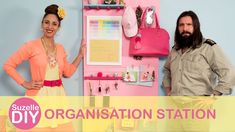 How to make an Organisation Station | SuzelleDIY