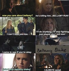 Bellamy and clarke I Cant Lose You, 100 Memes, The 100 Show, Bob Morley, Clexa, I Ship It, Bellarke, How To Get Away, Secret Love