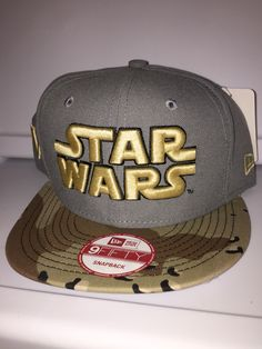 Star Wars gray with desert camouflage brim