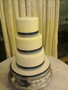 #weddingcake #simple #threetier Cake Blog, Wedding Cakes, Simple, Desserts, Food, Wedding Gown Cakes, Tailgate Desserts, Deserts, Wedding Cake