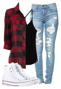 """""""Untitled #1011"""" by mallorimae ❤ liked on Polyvore featuring Rip Curl and Converse"""