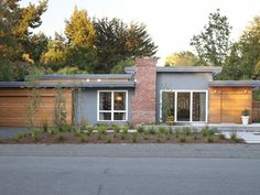 Photo of Gray Exterior project in Palo Alto, CA by Klopf Architecture