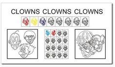 Bald erreicht die Faschingszeit mit Rosenmontag und Faschingsdienstag ihren Höhepunkt. Höchste Zeit also für eine Datei mit Clowns: Nachfahrübungen, Fehler entdecken, Reihen fortsetzen und rechts-links-Übungen. Die rechts-links-Übungen sind übrigens aus weiterlesen    Clowns! Clowns! Clowns!→