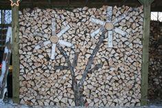 Bob's woodpile, Kenora, Ont