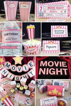 Sleepover Birthday Parties, Birthday Party For Teens, Teen Birthday, Party Themes For Teenagers, Teen Party Themes, Teen Parties, Slumber Party Ideas, Ideas Party, Themes For Parties