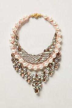 Shourouk Trade Winds Bib Necklace #anthrofave #anthropologie