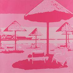 Pink beach  www.mathewhalpin.com