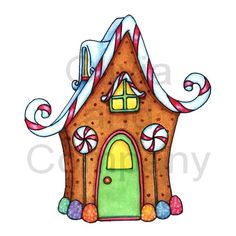 drawings of gingerbread houses | Gingerbread House