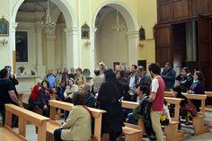 interno della chiesa di san Francesco d'Assisi