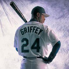 Ken Griffey Jr. - Seattle #Mariners