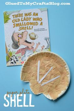 Paper Plate Shell Kid Craft & Paper Plate Cookie Kid Craft | Cookies kids Craft and Activities